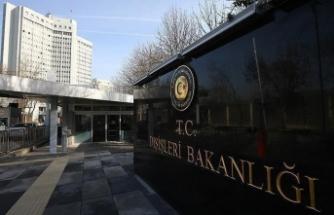 Türkiye'den Dostum'un uçağının indiği havaalanı civarındaki saldırıya kınama
