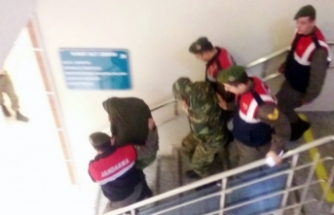 Yunan askerlerinin tutukluluklarına devam