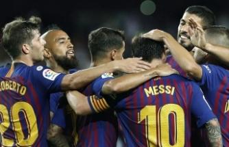 Barcelona lige galibiyetle başladı