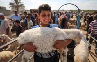 Gazze'deki ekonomik kriz nedeniyle Filistinliler kurban alamıyor