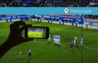 Periscope'a maç yayını engeli kararı