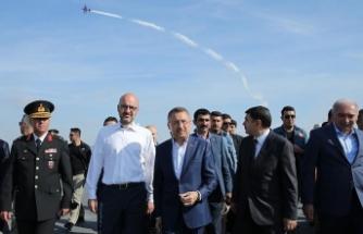 Cumhurbaşkanı Yardımcısı Oktay: Türkiye teknoloji ve havacılıkta ciddi bir kalkışı başlatmıştır