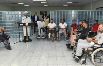 Diyanet İşleri Başkanı Erbaş'tan gazilere ziyaret