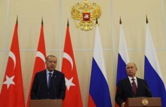 Erdoğan ve Putin Suriye'yi görüşecek