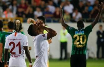 Galatasaray Manisa'dan mağlup dönüyor