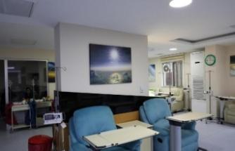 Kanser hastalarına, 'sanal gökyüzü'yle moral