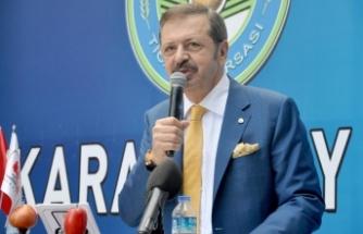TOBB Başkanı Hisarcıklıoğlu: Tarım ve hayvancılık, her zaman bir numaralı sektör olacak