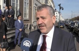 Türkiye'nin Lahey Büyükelçisi Hollanda'da