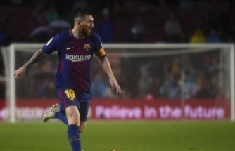 UEFA Şampiyonlar Ligi'nde haftanın futbolcusu Messi