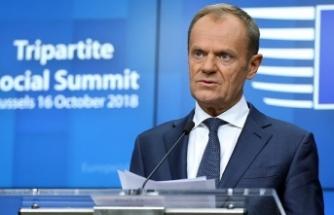 AB Konseyi Başkanı Donald Tusk: Brexit müzakereleri olumlu şekilde devam edecek