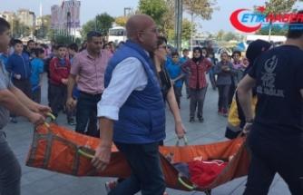 Alışveriş merkezinde yürüyen merdiven kazası: 12 yaralı