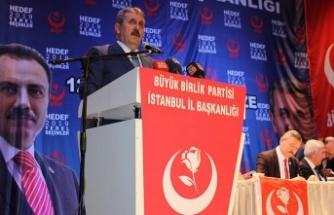 BBP Genel Başkanı Destici: Vatandaşlarımızın inancını, güvenini asla sarsmayacağız