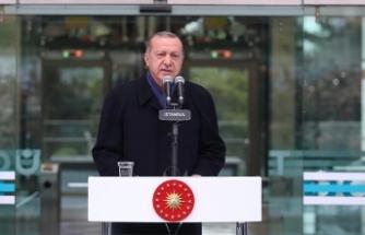 Cumhurbaşkanı Erdoğan: Yeniden diriliş, şahlanış döneminin arifesindeyiz