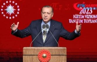 Erdoğan: Eğitim öğretim meselesi özünde insan meselesidir