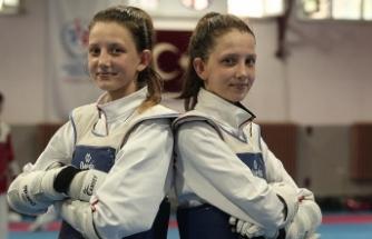 İkiz tekvandocuların hedefi Avrupa şampiyonluğu