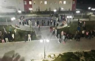 Kız öğrenci yurdunda su isyanı