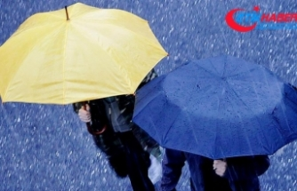 Meteorolojiden 5 il için sağanak uyarısı