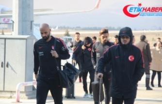 A Milli Takım Konya'ya geldi