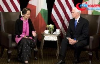 ABD Başkan Yardımcısı Pence: Arakanlı Müslümanlara karşı şiddetin özrü yok