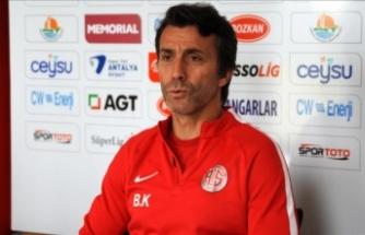 Antalyaspor Teknik Direktörü Korkmaz: Maksimum puanı almak istiyoruz