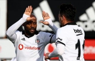 Beşiktaş hazırlık maçında kazandı