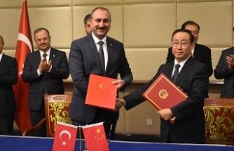 Çin ile mutabakat zaptı imzalandı