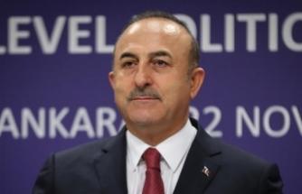 Dışişleri Bakanı Çavuşoğlu: AB'den terörle mücadelemize daha fazla destek bekliyoruz