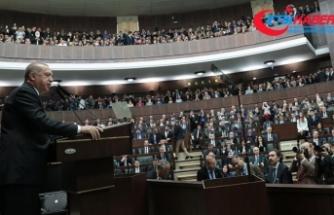 Erdoğan: Aday gösterilmedim diye sırtını dönen AK Parti'li olamamıştır
