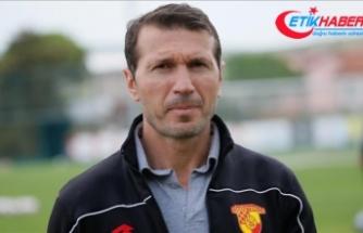 Göztepe teknik direktörü Bektaş: Hedefimiz Başakşehir'i yenip 3 puanı almak