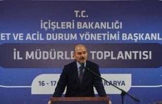 İçişleri Bakanı Soylu: Türkiye Avrupa'nın ikinci büyük deprem gözlem ağına sahiptir