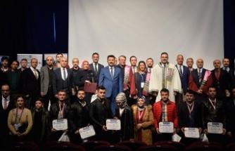 Mardin'de açıköğretim öğrencilerine başarı belgesi