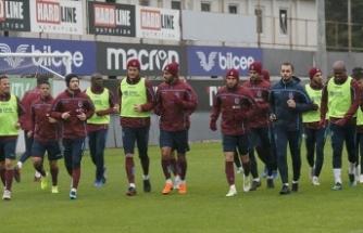 Trabzonspor Fenerbahçe maçı hazırlıklarını antrenmanla sürdürdü