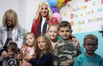 Türkiye Maarif Vakfı'nın Üsküp'teki anaokulu eğitime başladı