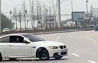 Ankara'da 'drift' yapan sürücüye 5 bin TL ceza