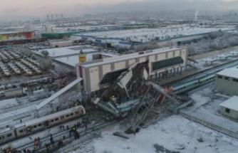 Ankara'da hızlı tren kazası: 7 ölü, 46 yaralı