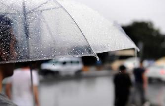 Batı bölgelerinde hava yağışlı olacak