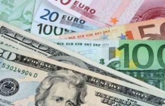 Dolar, 5.36, euro 6.08 ve sterlin de 6.70 lirada