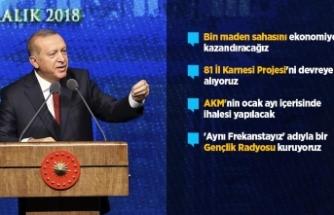 Erdoğan ikinci 100 günlük hedefleri açıkladı