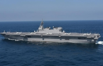 Japonya en büyük destroyerini uçak gemisine dönüştürüyor