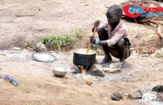 Nijerya'da yetersiz beslenmeden 3 ayda 30 çocuk öldü