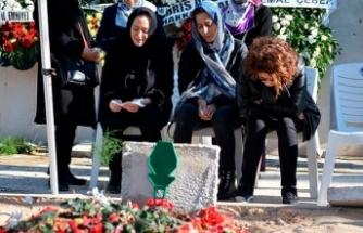 Şehit Emniyet Müdürü Verdi'nin mezarına aile ziyareti