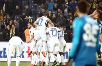 Türkiye kariyerindeki ilk golünü Fenerbahçe'ye attı