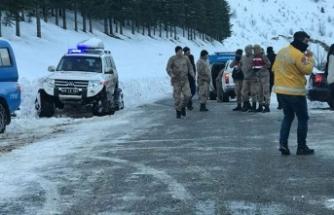 Çağlayancerit'te çığ düştü, 1 kişi hayatını kaybetti