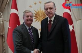 Cumhurbaşkanı Erdoğan, ABD'li senatör Graham'ı kabul etti