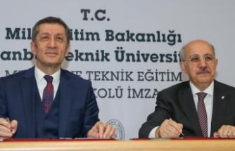 'İTÜ Mesleki ve Teknik Anadolu Lisesi' kurulacak