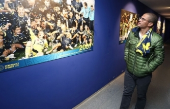 Alex De Souza Fenerbahçe'yi ziyaret etti