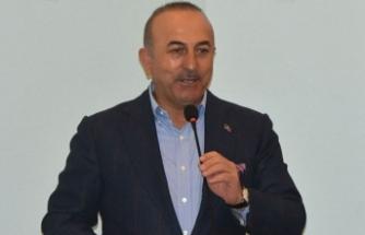 Bakan Çavuşoğlu: Terörle mücadele için kimseden icazet almayız