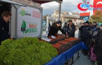 Balıkesir'de ilk 'tanzim satış noktası' açıldı