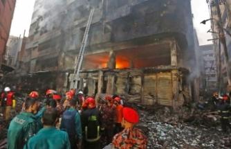 Bangladeş'te yangın: 69 ölü