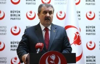 BBP Genel Başkanı Destici: Cumhur İttifakı adaylarını tercih edeceğiz